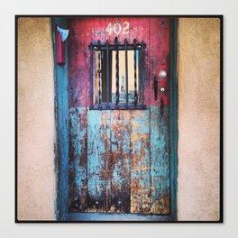 Colorful Door, Santa Fe Canvas Print