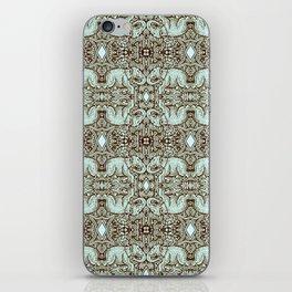 Kaleidoscope - Elephant - Daytona - Stamp Detail iPhone Skin