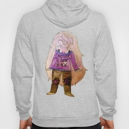 Sweater'd Amethyst Hoody