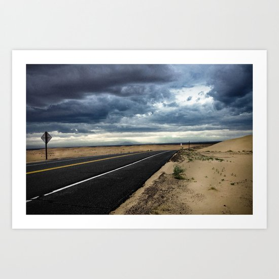 Road to Isolation Art Print