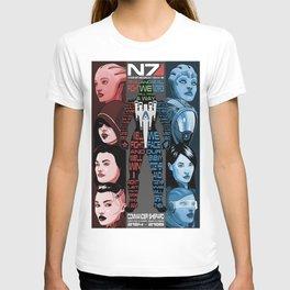 N7: The Female Squad T-shirt