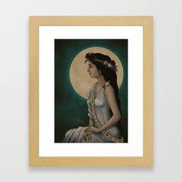 Goddess Demeter Framed Art Print