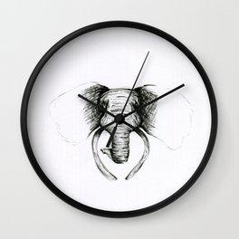 Classic Palm Tree Wall Clock