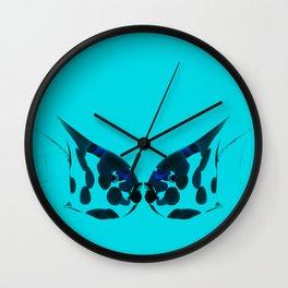 Kissing fish. Wall Clock