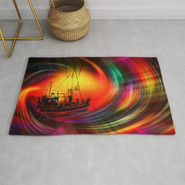 Our world is a magic - Time Tunnel 5 Rug