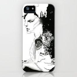 Deer Girl iPhone Case