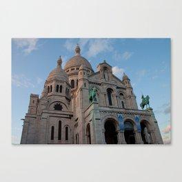 Sacre Coeur in September Canvas Print