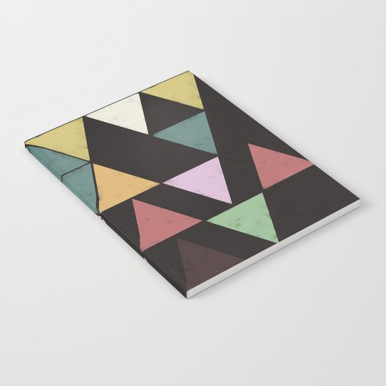 Dark Triangles Notebook