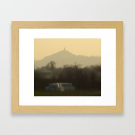 Glastonbury Tor  Framed Art Print