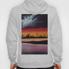 Abu Dhabi, watercolor Hoody