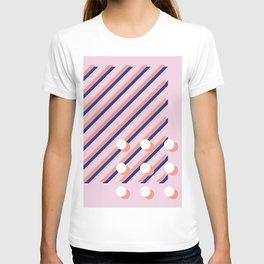 Geo collage T-shirt