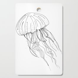 Jellyfish Cutting Board