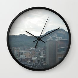 Overlooking Seoul Wall Clock