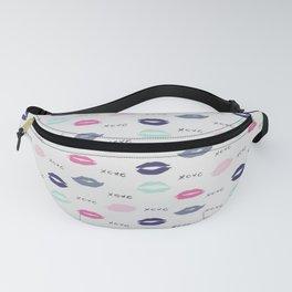 Lips xoxo pattern Fanny Pack