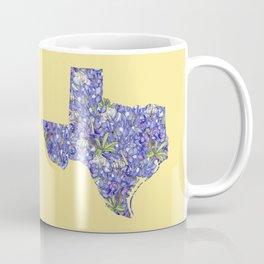 Texas in Flowers Coffee Mug