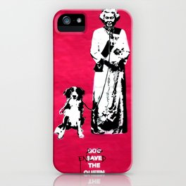 Dog Enslaved the Queen iPhone Case