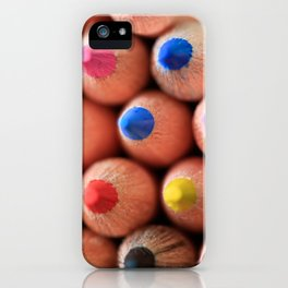 Get To The Point iPhone Case