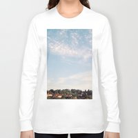 sunrise Long Sleeve T-shirts featuring Sunrise by Rose Etiennette