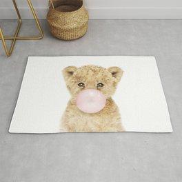 Bubble Gum Lion Cub Rug