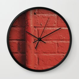 Accidents Happen Wall Clock