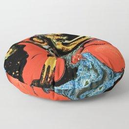 Color Explosion 6 Floor Pillow