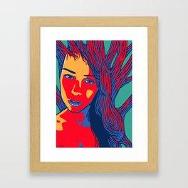 Sleeping Forest14 Framed Art Print
