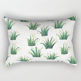 Field of Aloe Rectangular Pillow