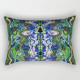 Liquidity 100 Rectangular Pillow