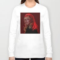 laura palmer Long Sleeve T-shirts featuring Laura Palmer from Twin Peaks by Annike