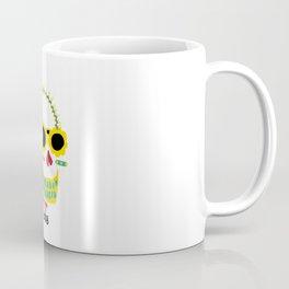 Day of the Dead Masato skull Coffee Mug