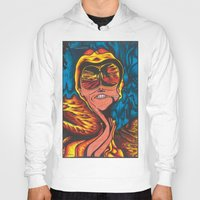 fear and loathing Hoodies featuring Fear and Loathing  by Katrina Berkenbosch