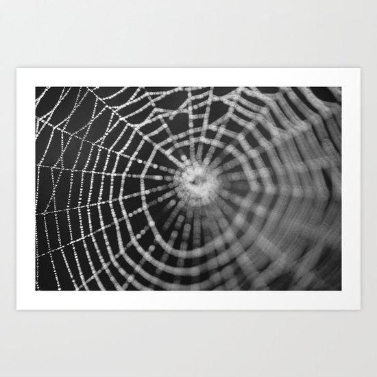 Bokeh Web  Art Print