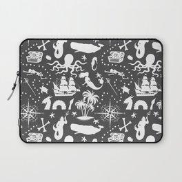 High Seas Adventure // Charcoal Laptop Sleeve