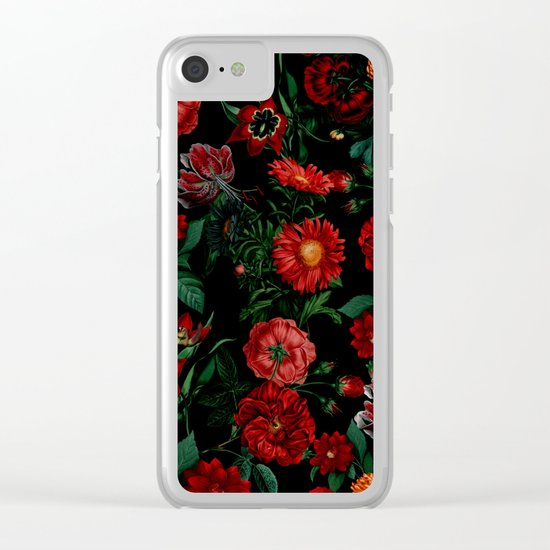 Botanical Garden Clear iPhone Case