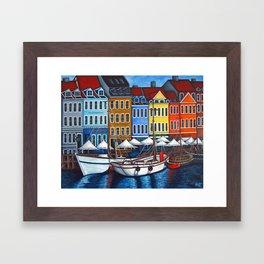 Colours of Nyhavn Framed Art Print