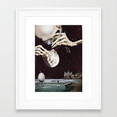 Cosmic Dead Framed Art Print