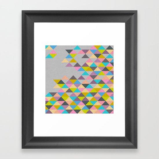 Completely Incomplete Framed Art Print