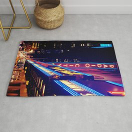 New York City Neon Jungle Rug