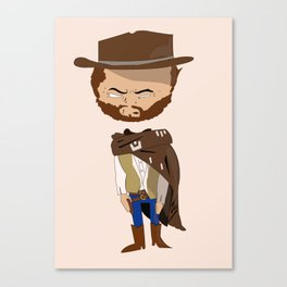 Blondie The Good The Bad and The Ugly Canvas Print