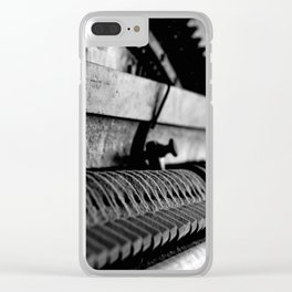 DUSTED Clear iPhone Case