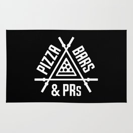 Pizza, Bars and PRs Rug