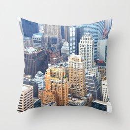 Manhattan Throw Pillow