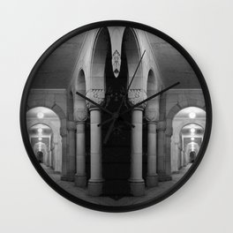 Corridors of confusion Wall Clock