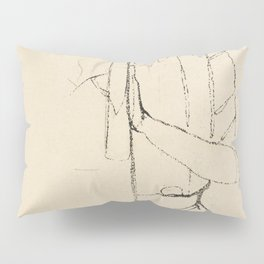 Insect Sweet William Spider Marine Mollusk and Eye of Santa Lucia from Mira Calligraphiae Monumenta Pillow Sham
