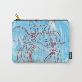 Silently Screaming Carry-All Pouch