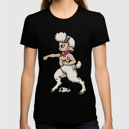 Faun Fighter (lamb) T-shirt