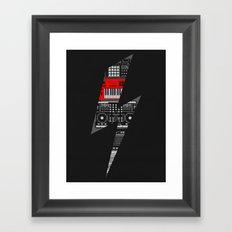 Electro Music  Framed Art Print