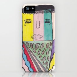I Love Pizza But Is It Kosher Pizza iPhone Case