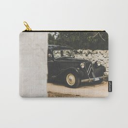 French car, Traction Avant, fine art photography, old auto, classic auto, supercar, executive car Carry-All Pouch
