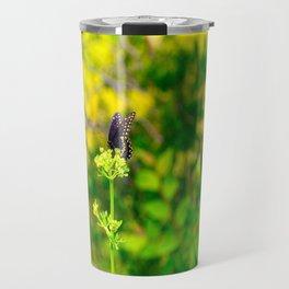 Spicebush Swallowtail Butterfly Travel Mug
